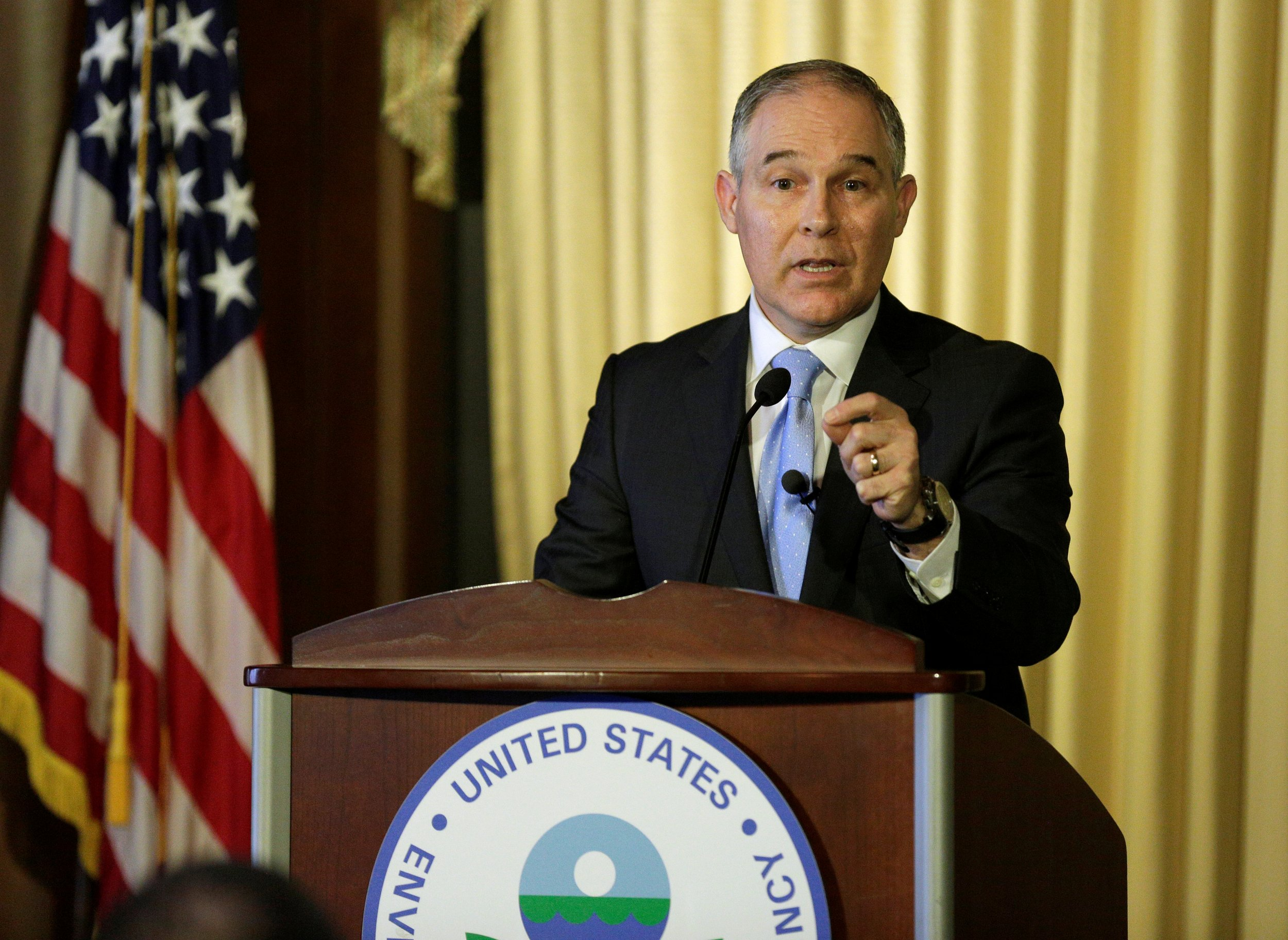 House republicans buck trump call for climate change solutions 0315scottpruitt01 sciox Images