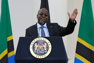 Magufuli in Kenya