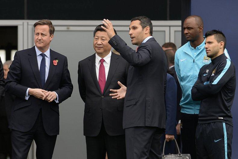 Xi's State Visit to U.K.