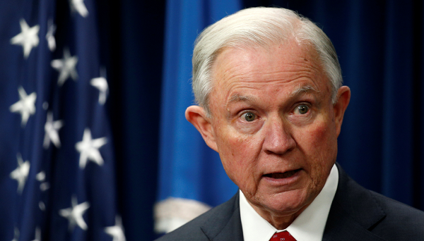 Attorney General Jeff Sessions condemns ideas to use medical marijuana to ease the opioid and heroin epidemic ravaging the U.S.