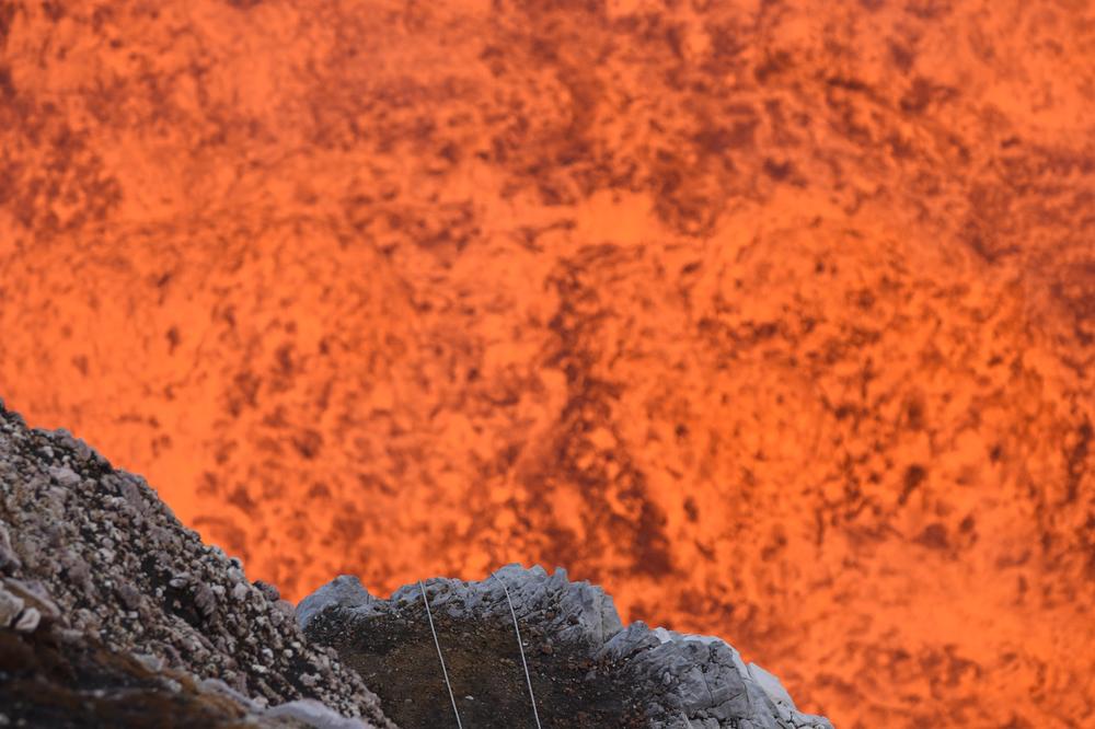 Vanuatu volcano google street view