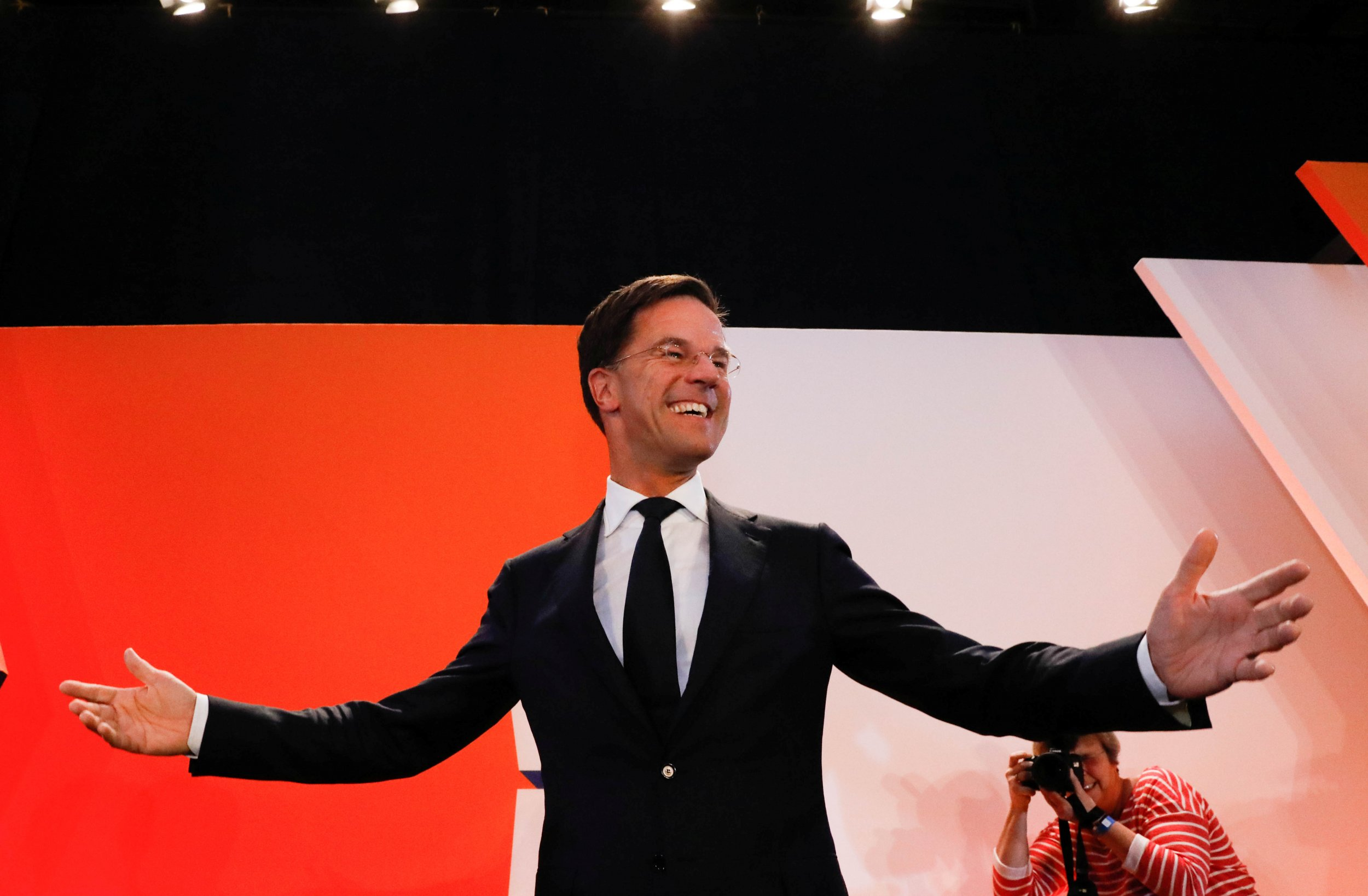 Mark Rutte Dutch Election Results