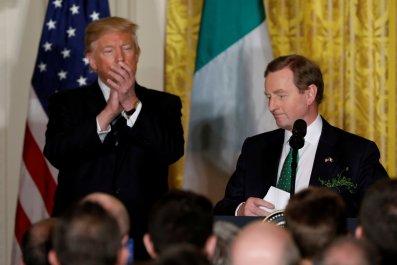 Donald Trump Enda Kenny