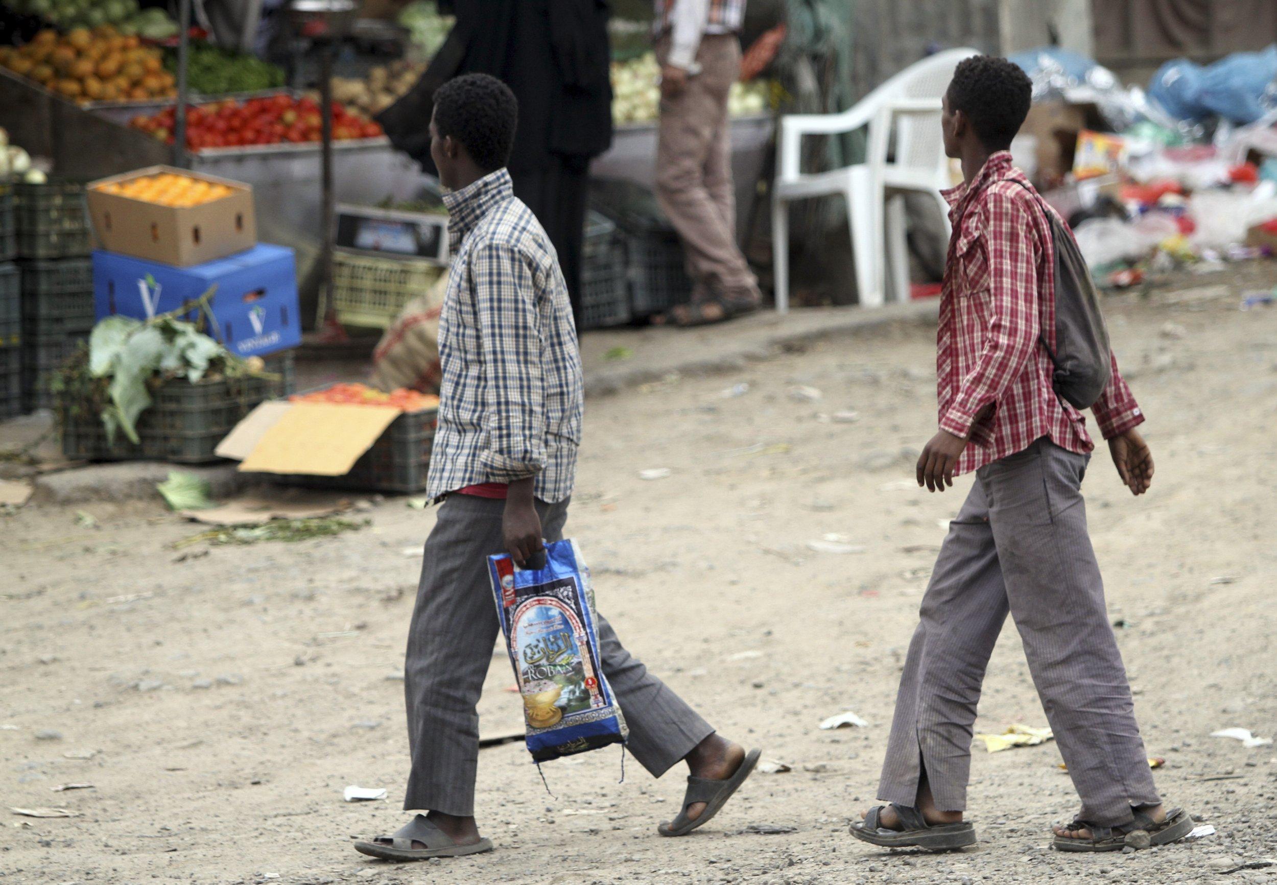 Somali Ethiopian refugees in Yemen