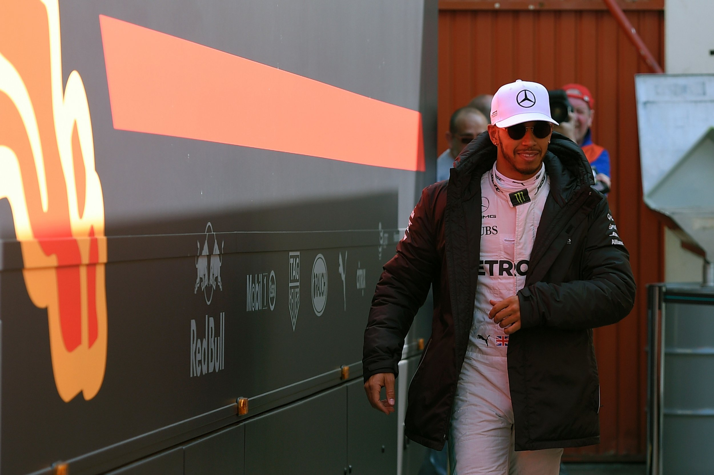 Mercedes-AMG driver Lewis Hamilton.