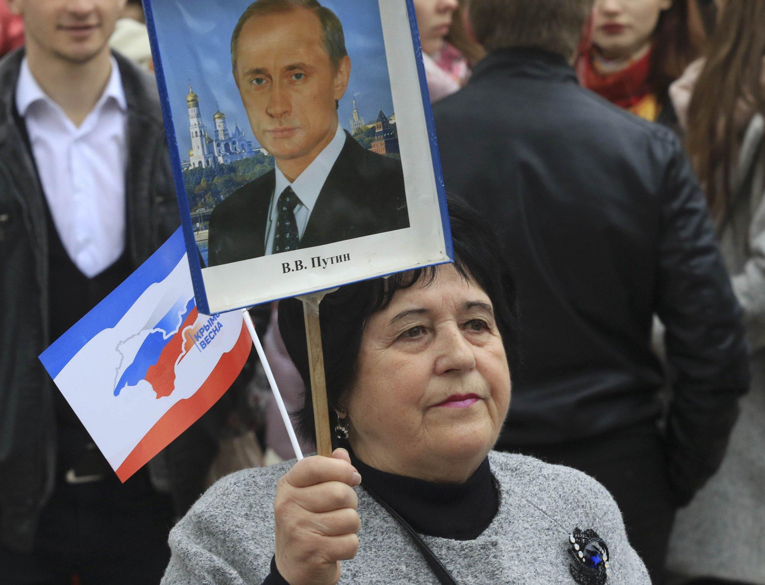 Russia, Crimea celebrations