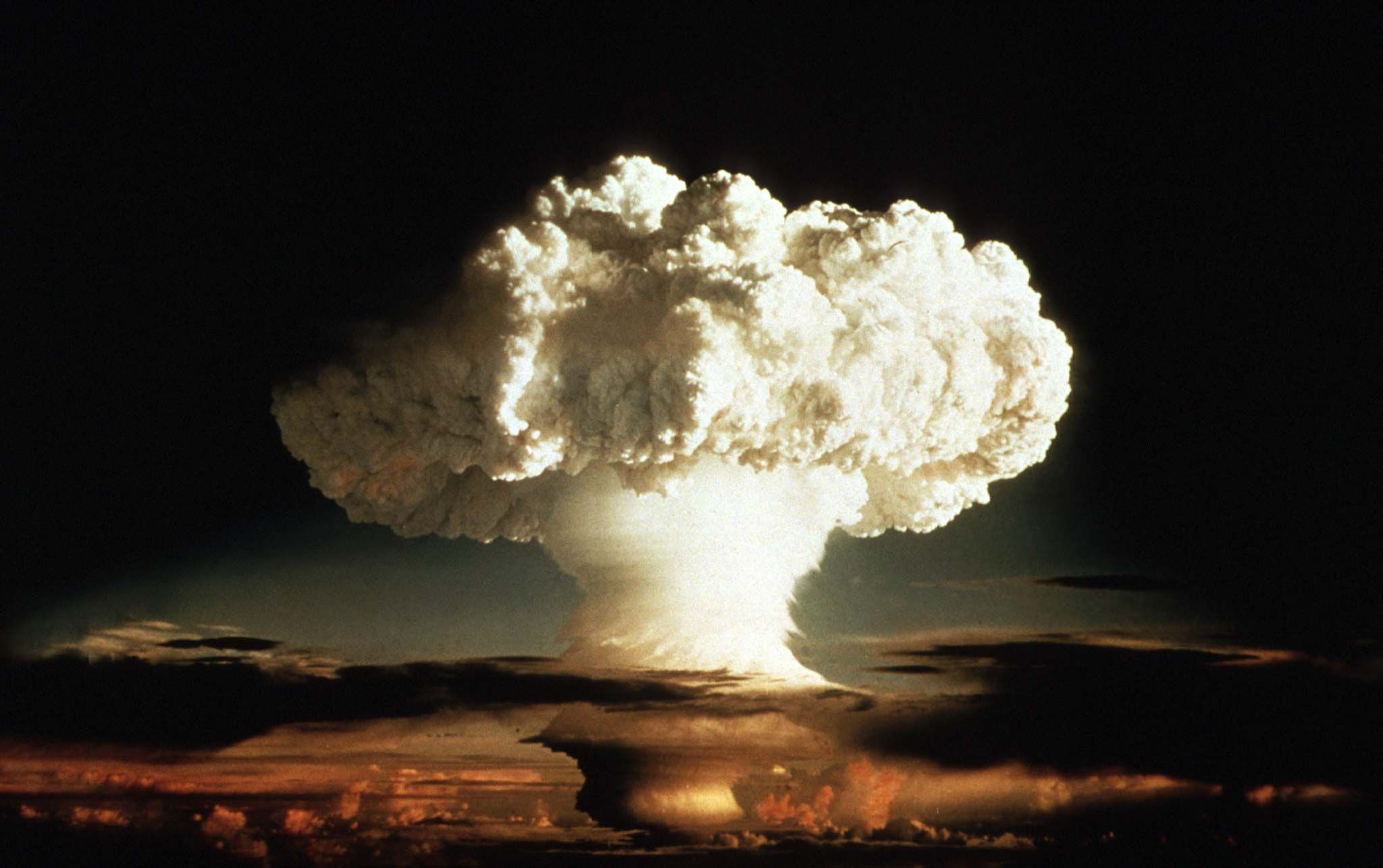 Secret Nuclear Bomb Test Videos Released by U.S ...