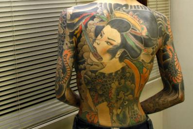 Remaining Yakuza gang members reach a 12-year low.