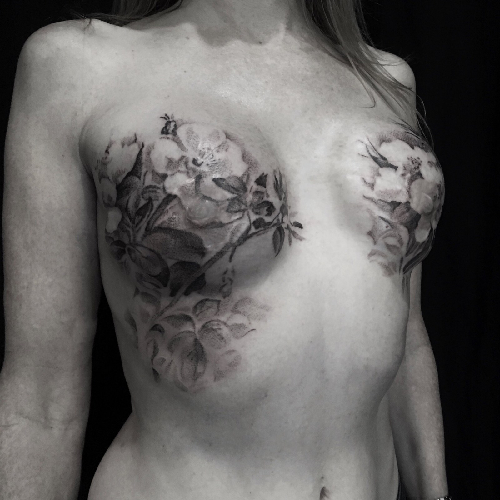 e68964878 Tattooists Help Breast Cancer Survivors Transform Scars Into Art
