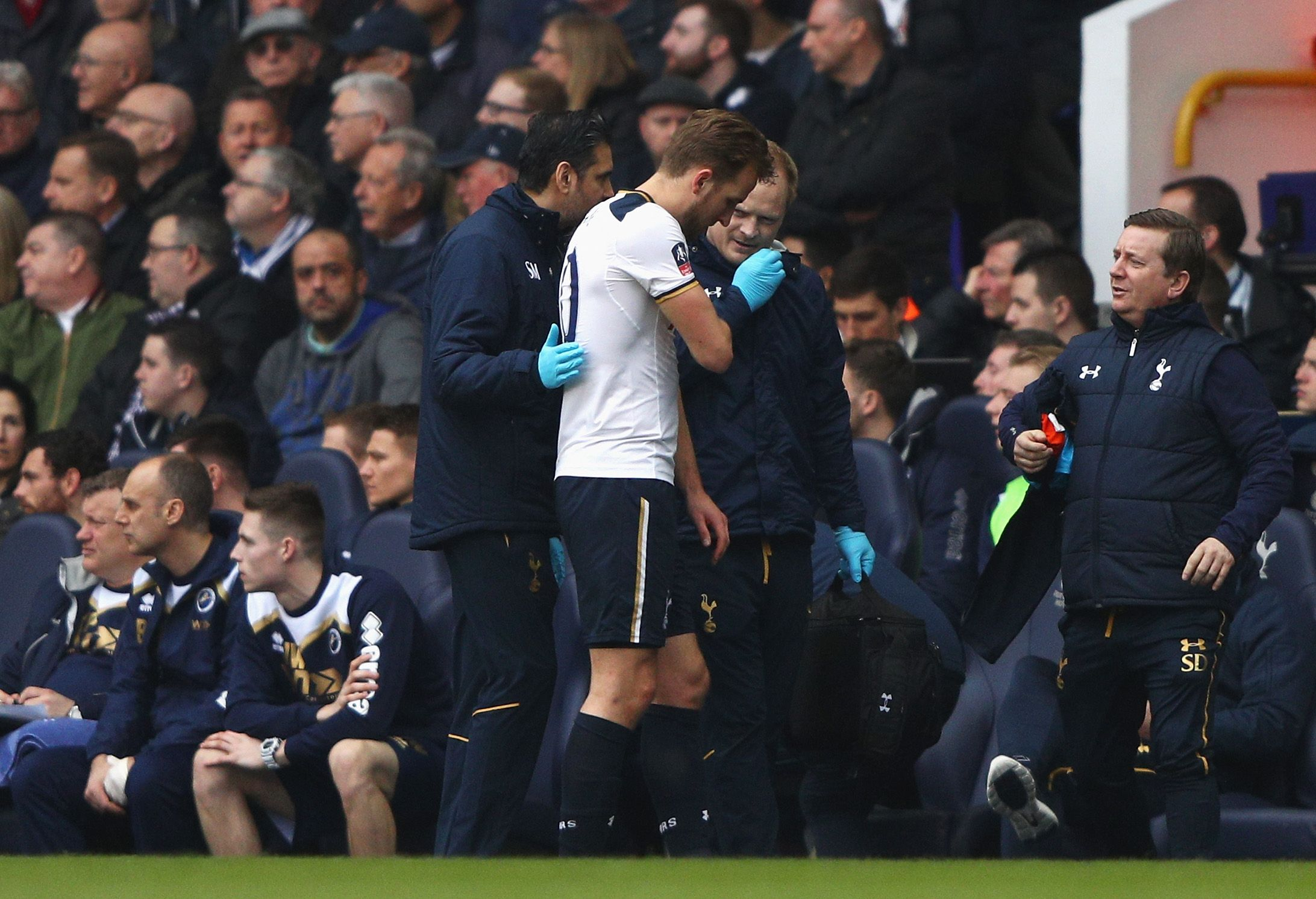 Tottenham Hotspur striker Harry Kane.