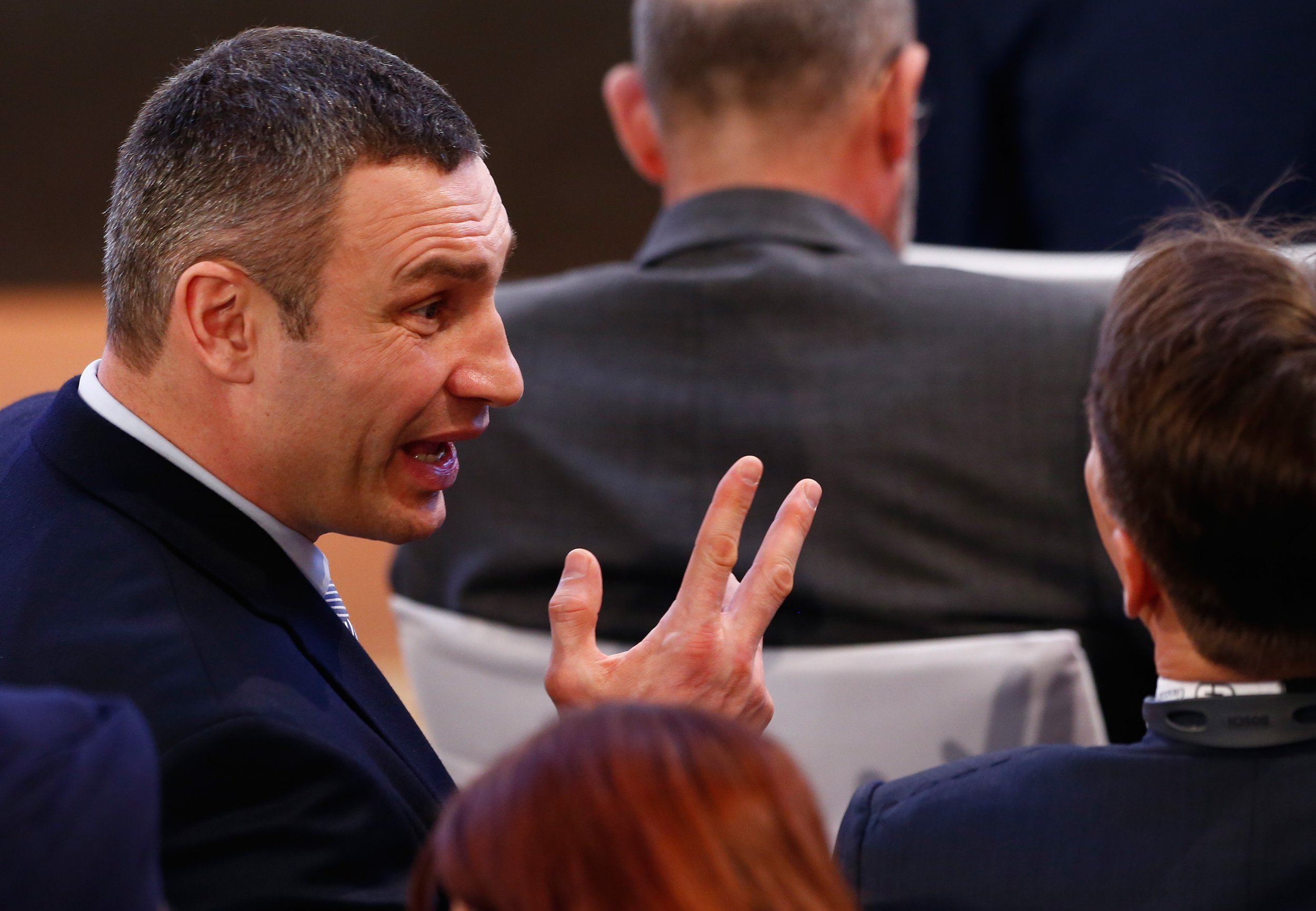 Kiev S Klitschko Opens Up About Trump S Support At Fights