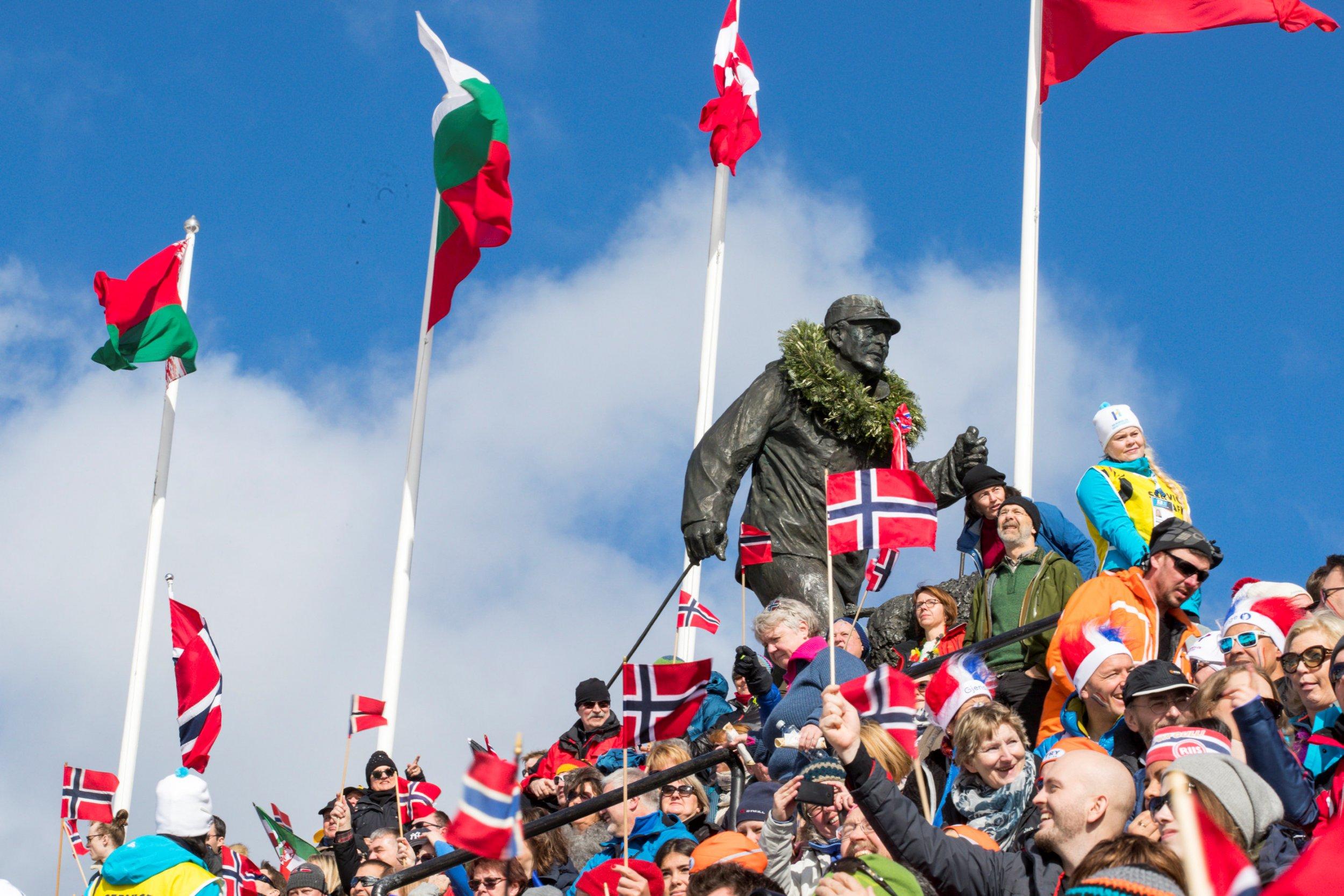 Norway cheers