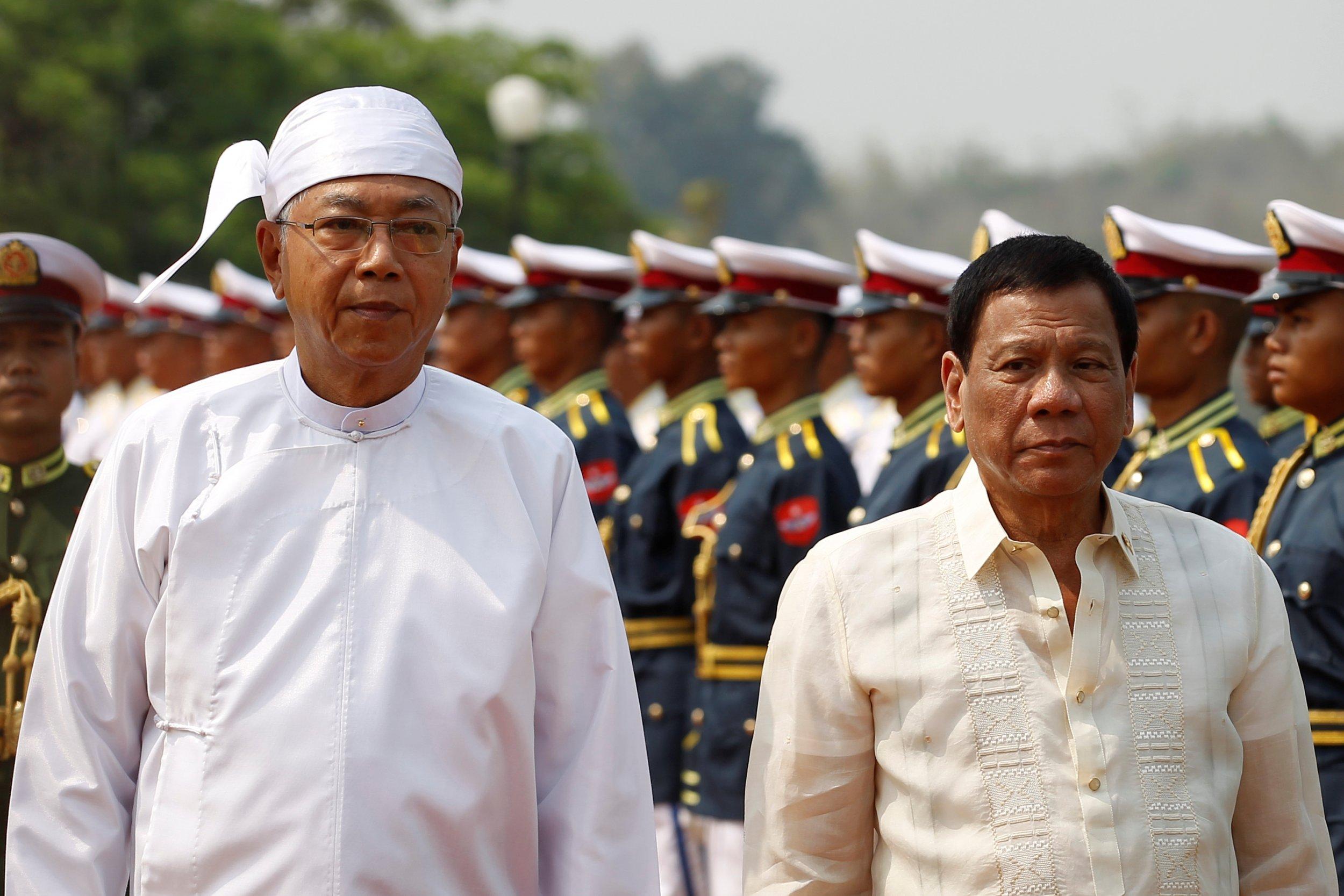 Duterte in Myanmar