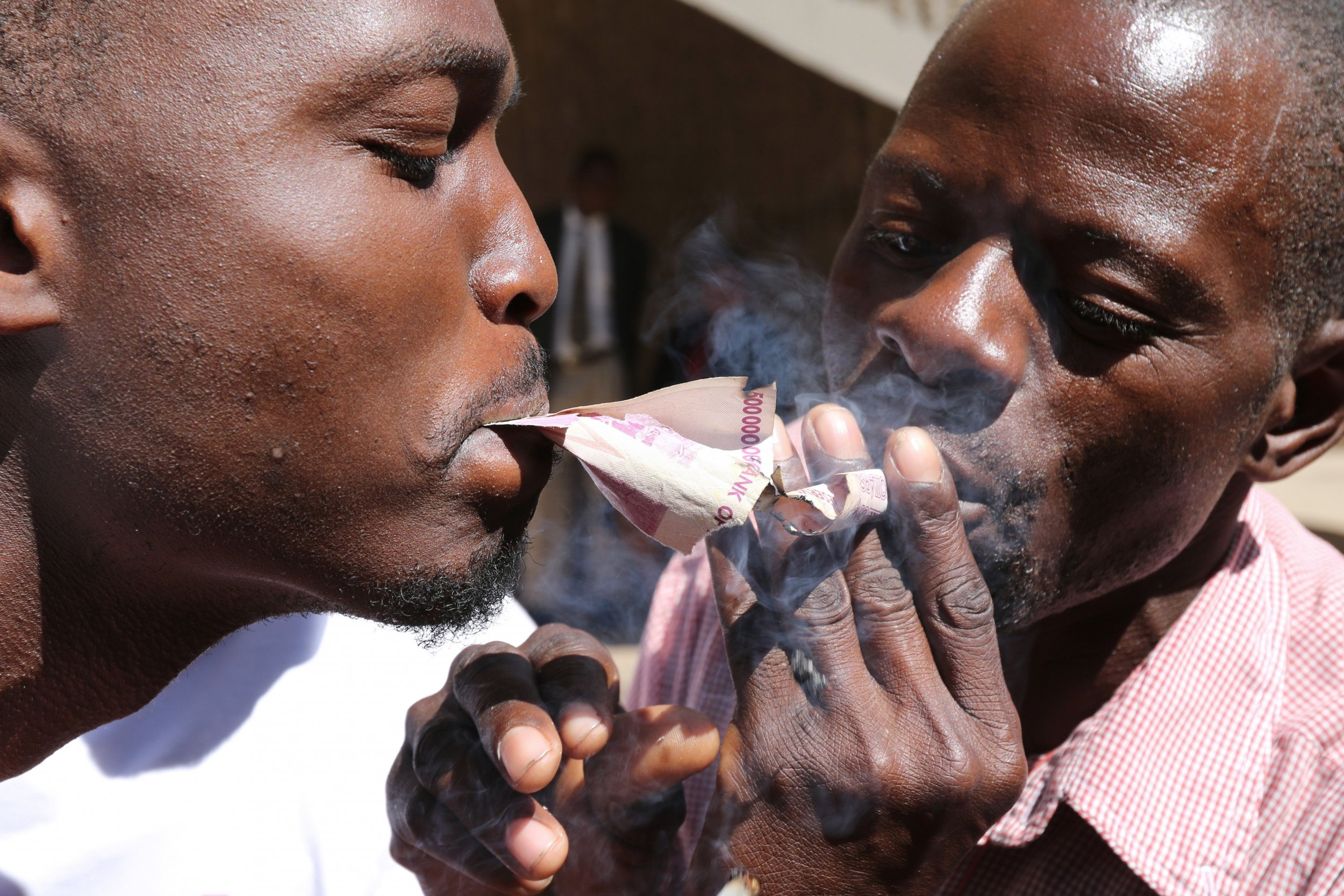 Zimbabwe bond notes protest
