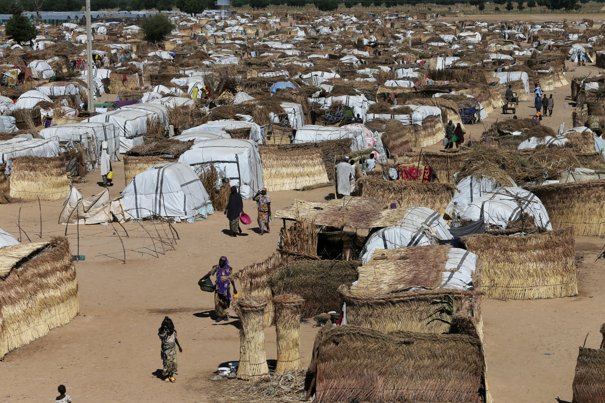 Muna IDP camp