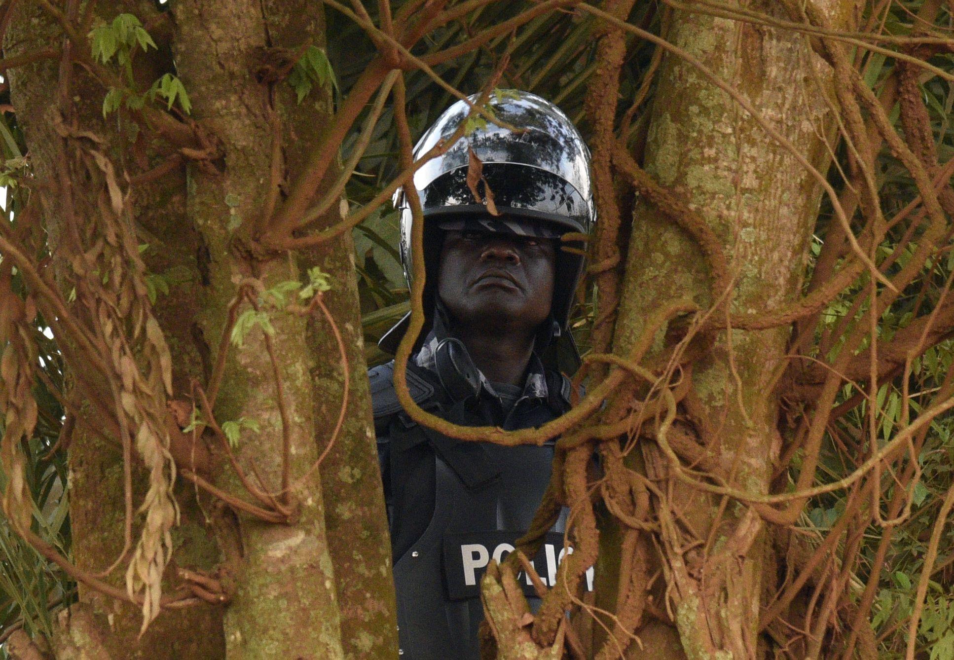 Uganda police officer