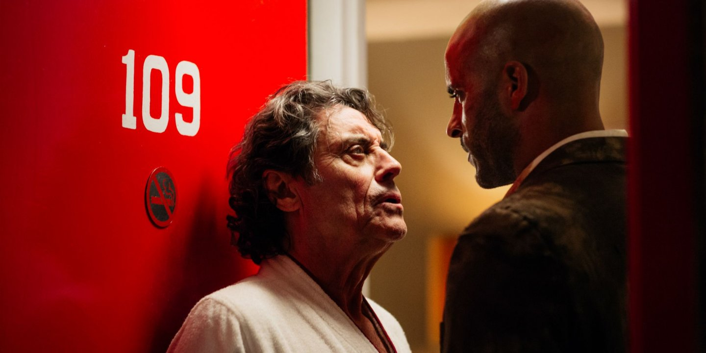 American Gods - Mr. Wednesday and Shadow Moon