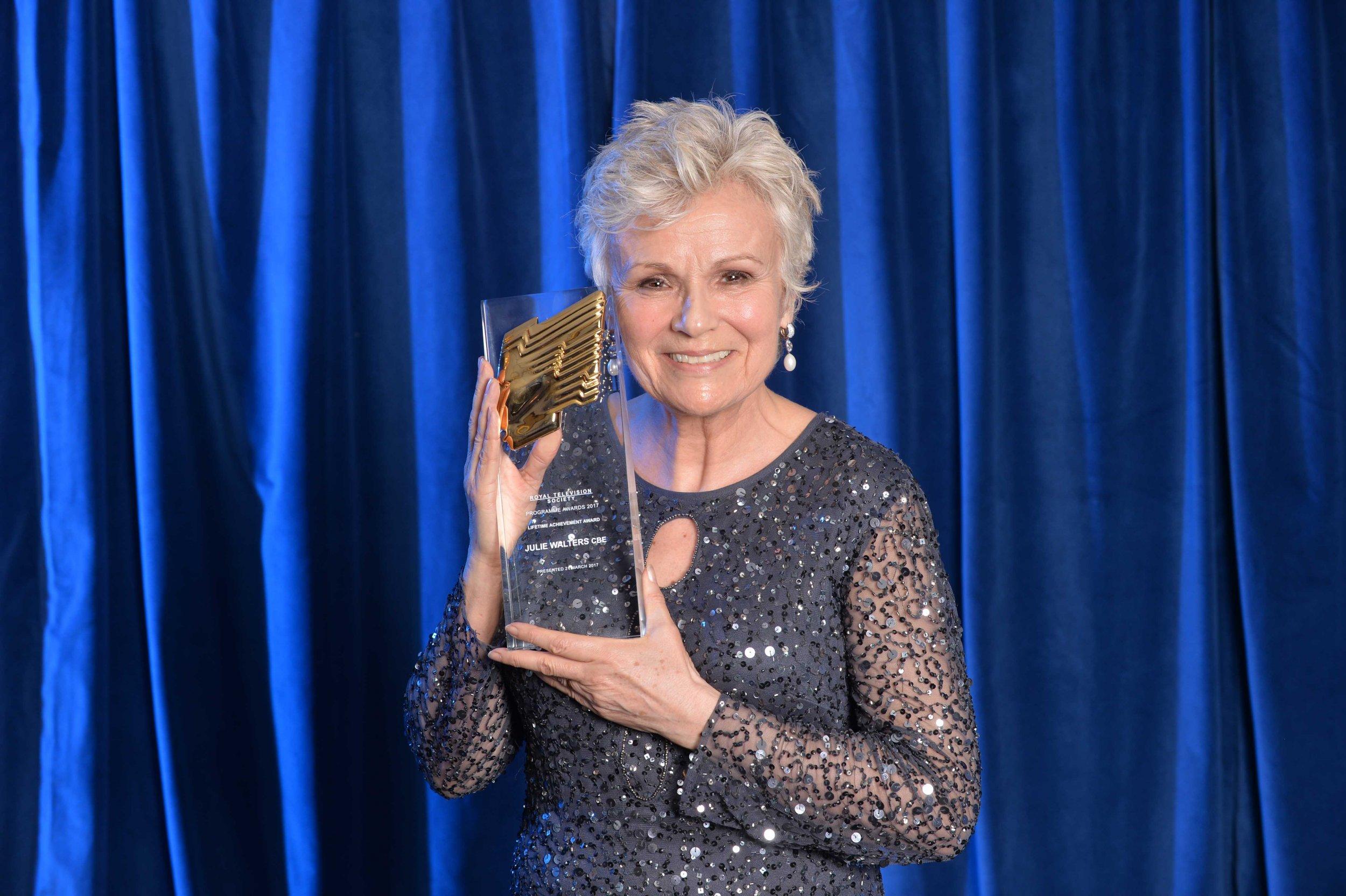 Julie Walters wins RTS Award