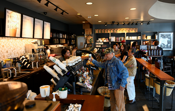 Starbucks announces plans to create 240,000 new jobs by 2021.
