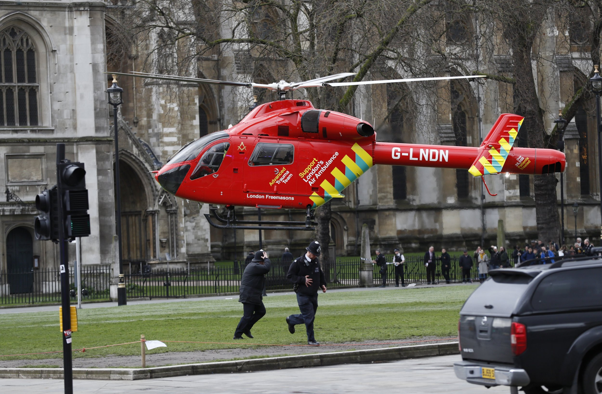 Air ambulance Westminster