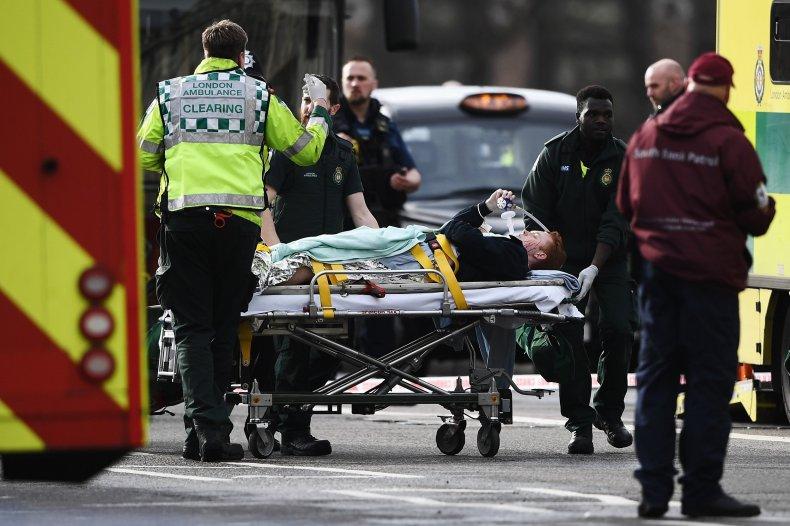 London attack survivor
