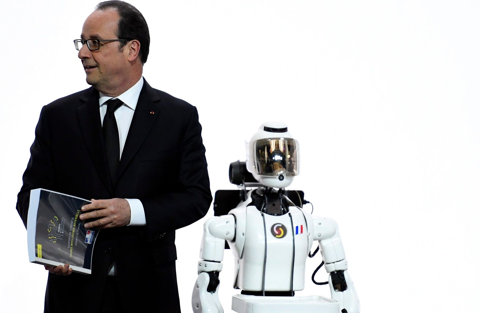 robot politician artificial intelligence AI