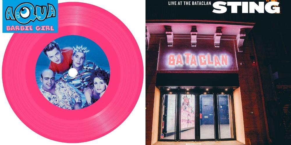 Barbie Girl by Aqua and Sting's Bataclan album