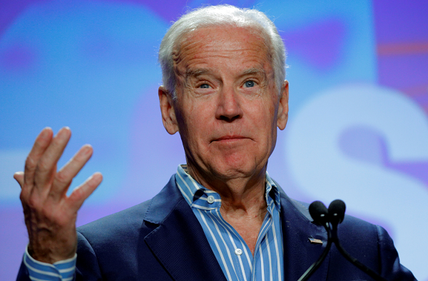 Joe Biden says President Donald Trump should apologize to Barack Obama for wiretapping claim.