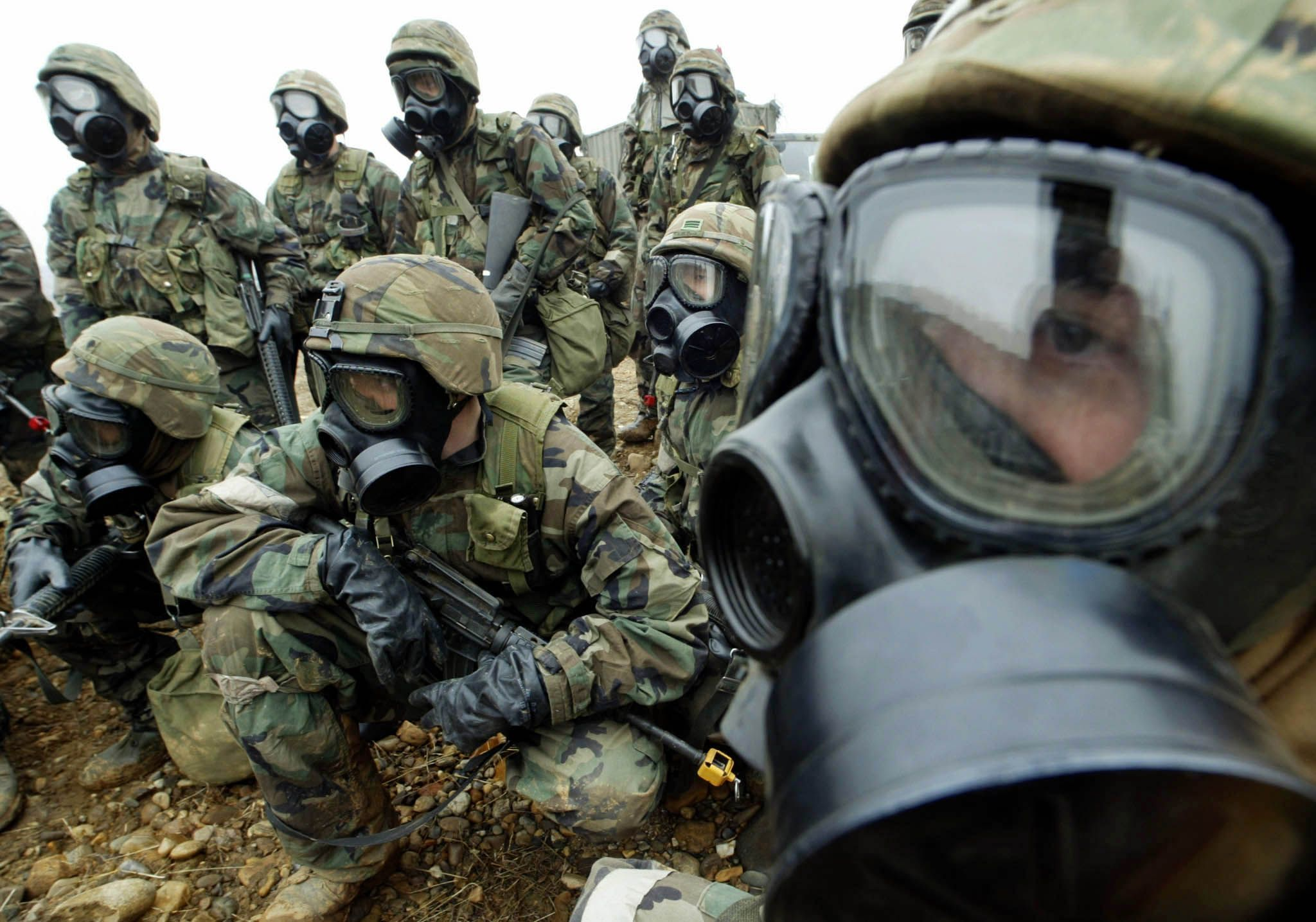 U.S. Prepares for North Korea Chemical Weapon Attack in ...