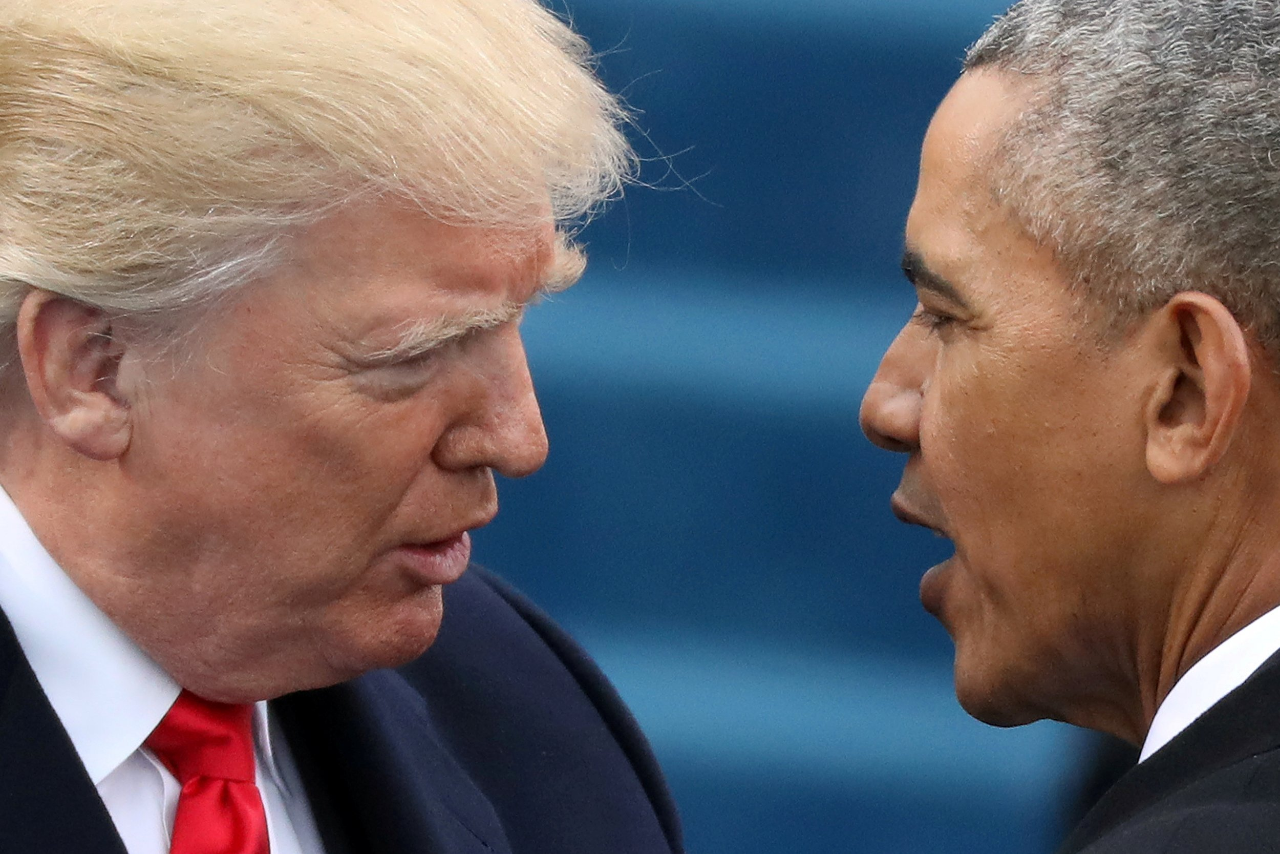 Do obama and trump talk after smooth transition dont expect them president barack obama r greets president elect donald trump at inauguration ceremonies swearing in trump as president on the west front of the us m4hsunfo