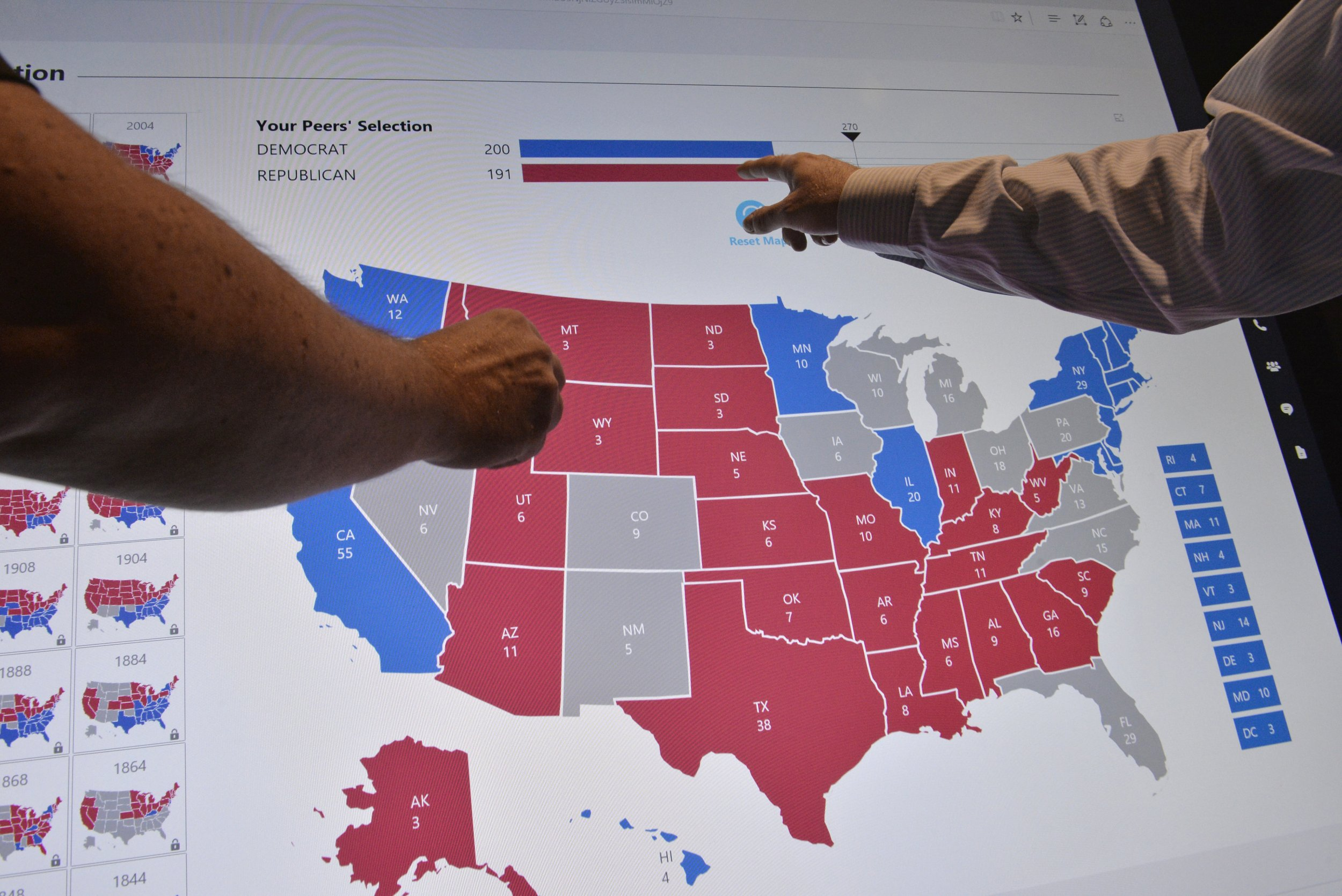 Quora Question Why Are Republicans Red And Democrats Blue - 2016 us map for electoral votes to color in