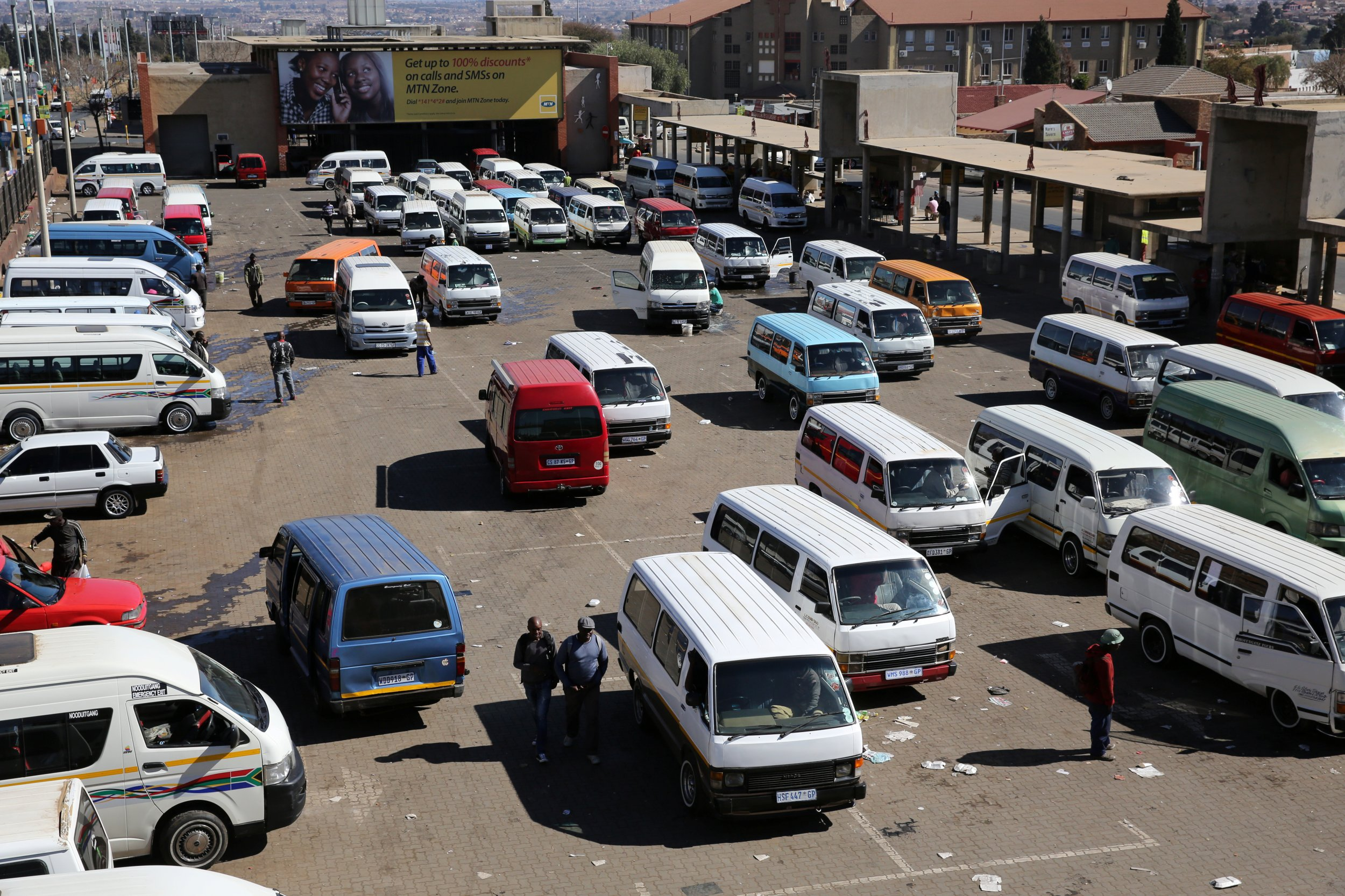 Soweto taxis