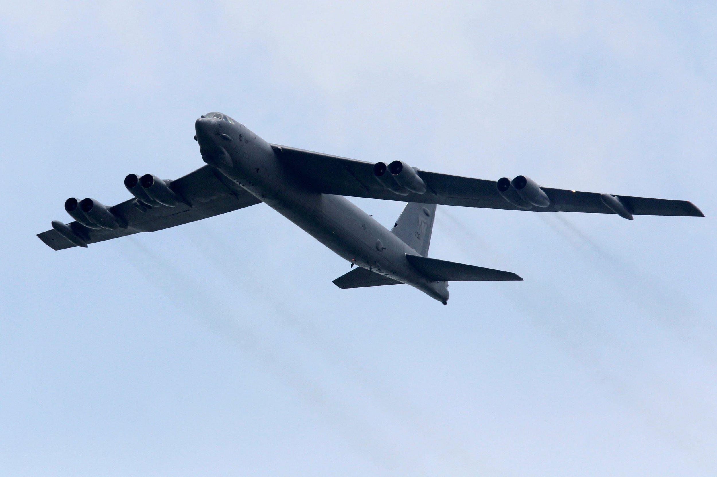 US bomber plane