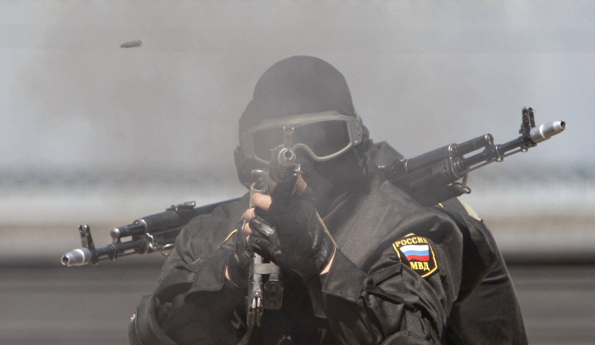 Interior Ministry soldier