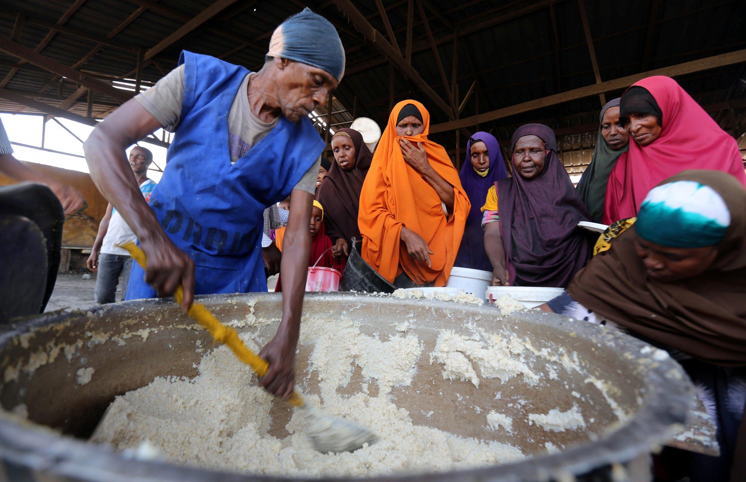 Somalia food aid