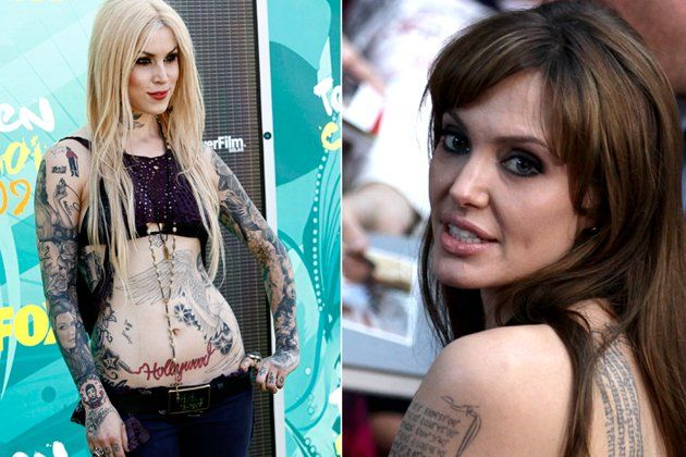 Kat von d are celebrities driving tattoo culture for How to get tattooed by kat von d