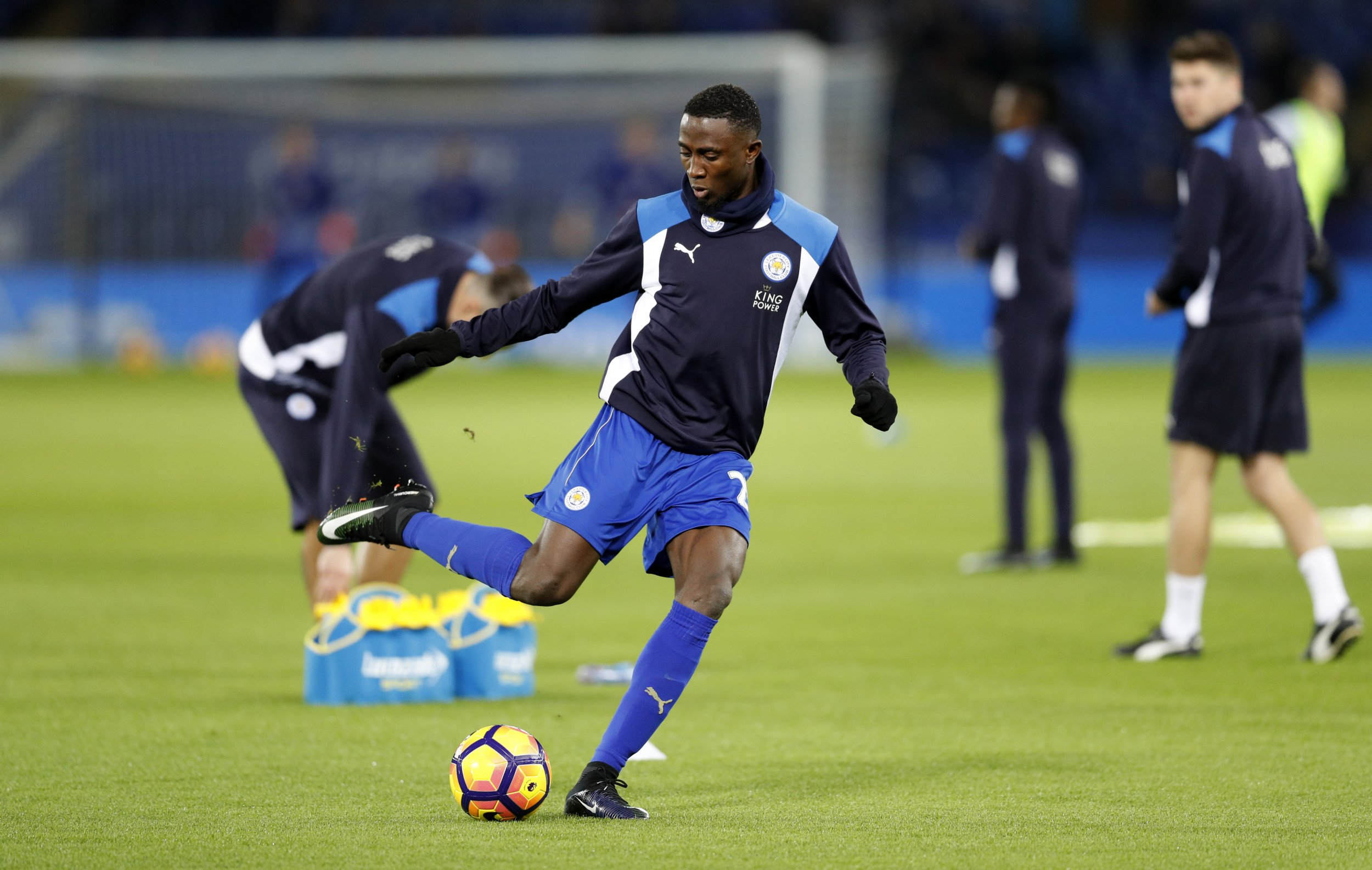 Leicester City and Nigeria midfielder Wilfred Ndidi at King Power Stadium, Leicester, January 14.