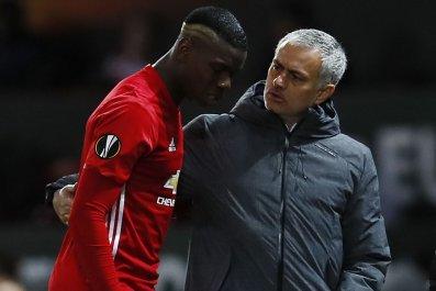 Pogba and Mourinho