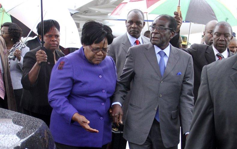 Mujuru Mugabe