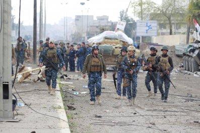 Iraqi soldiers, Mosul