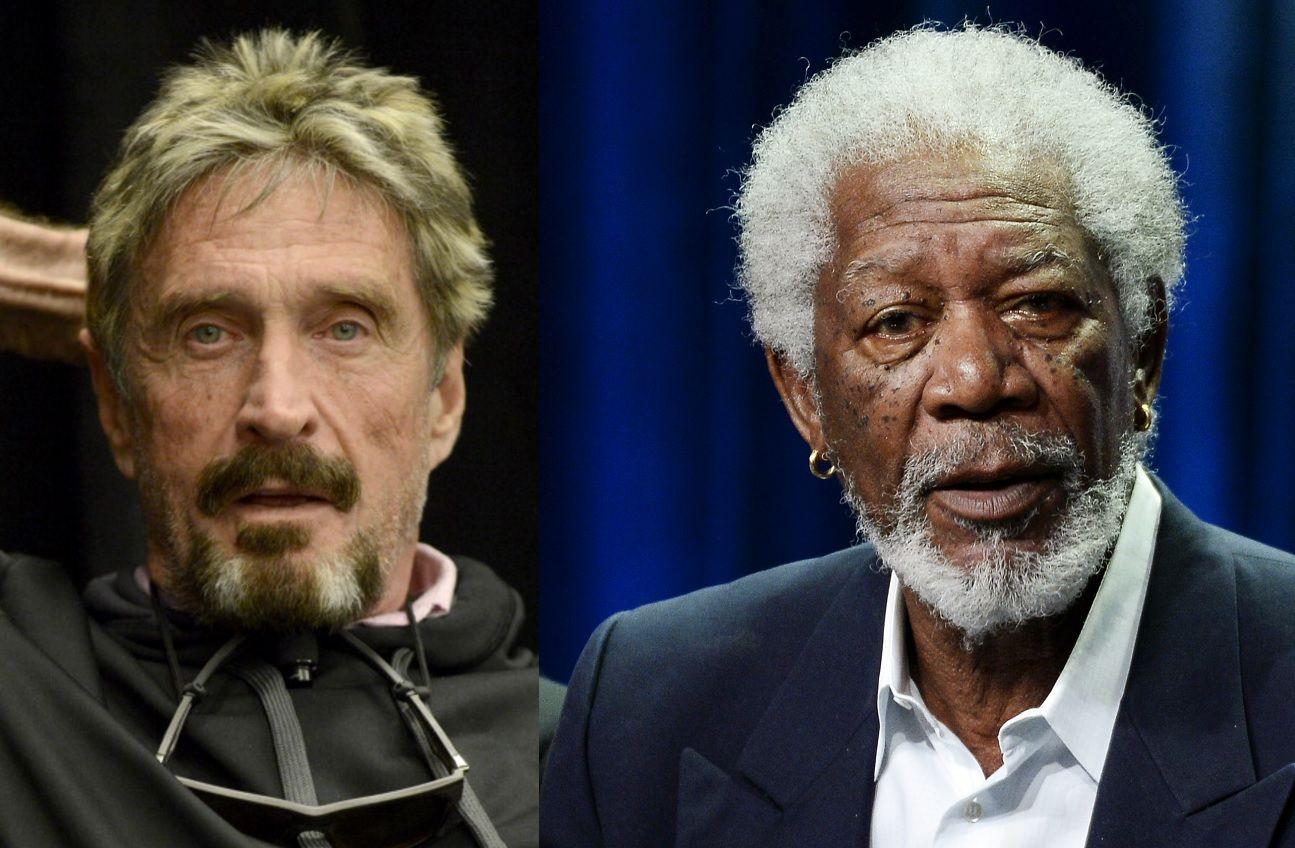 John McAfee Wants Morgan Freeman to Play Him in Biopic