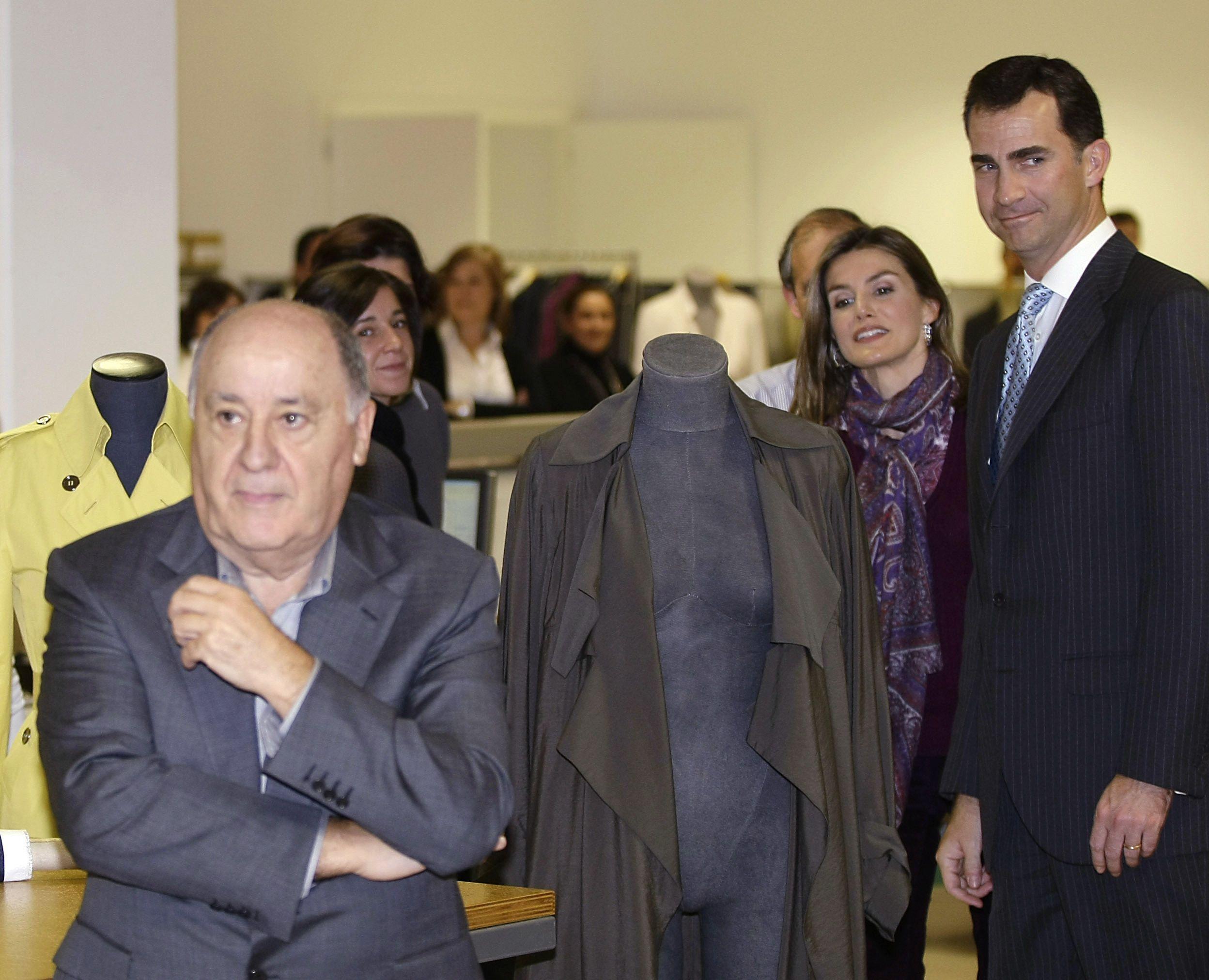 Amancio Ortega and Spain's royal family