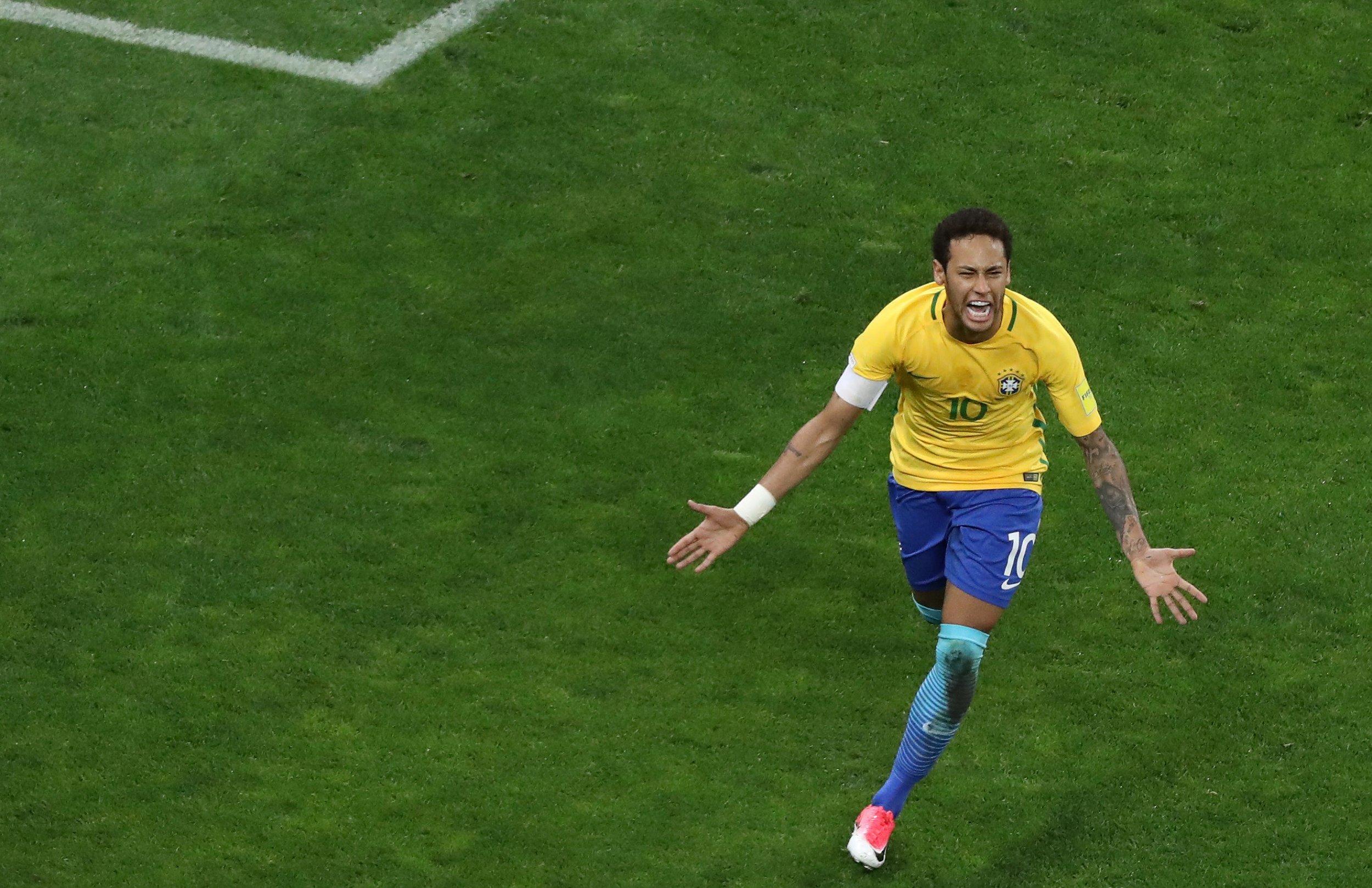 Brazil and Barcelona forward Neymar