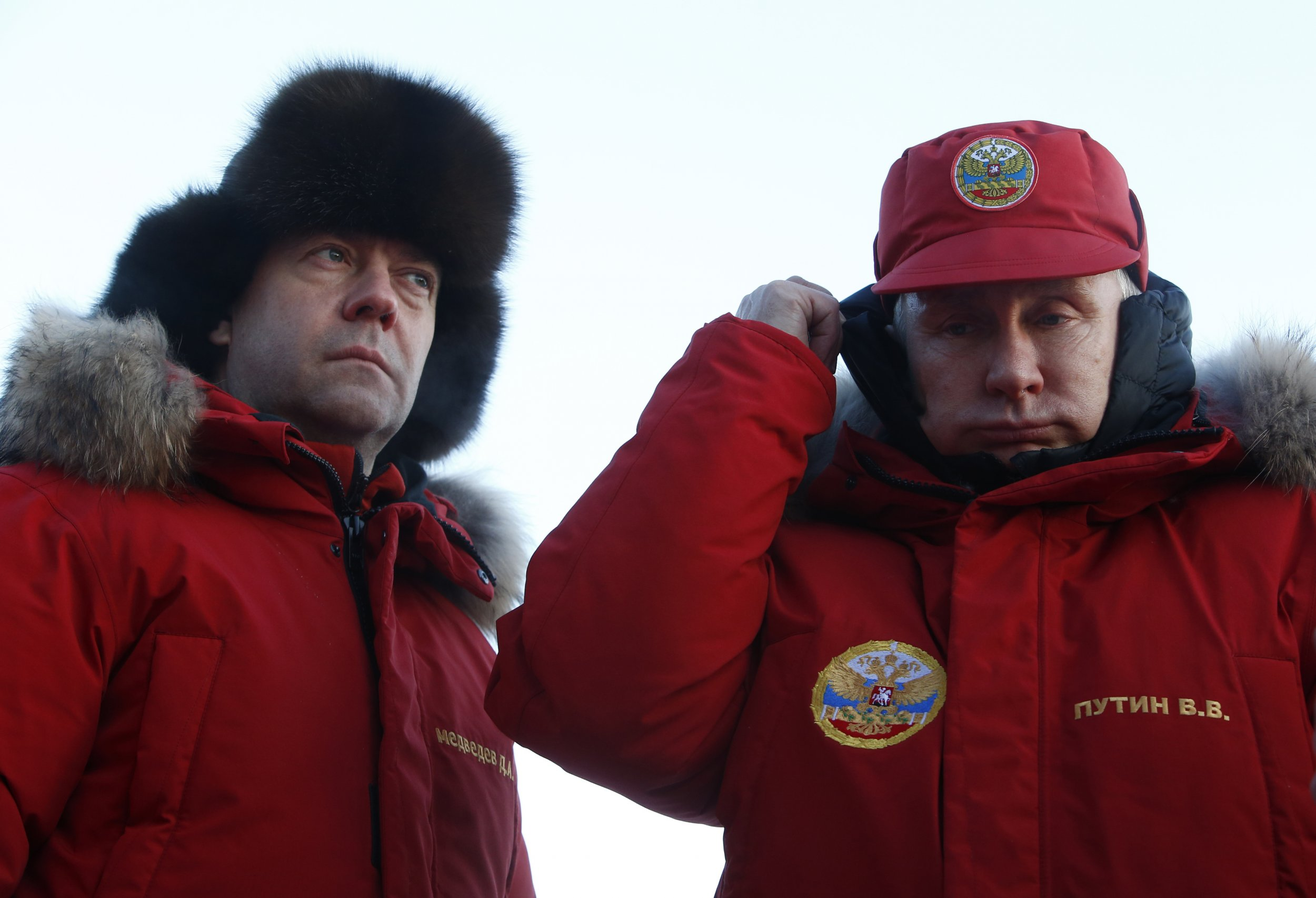 Putin in the Arctic