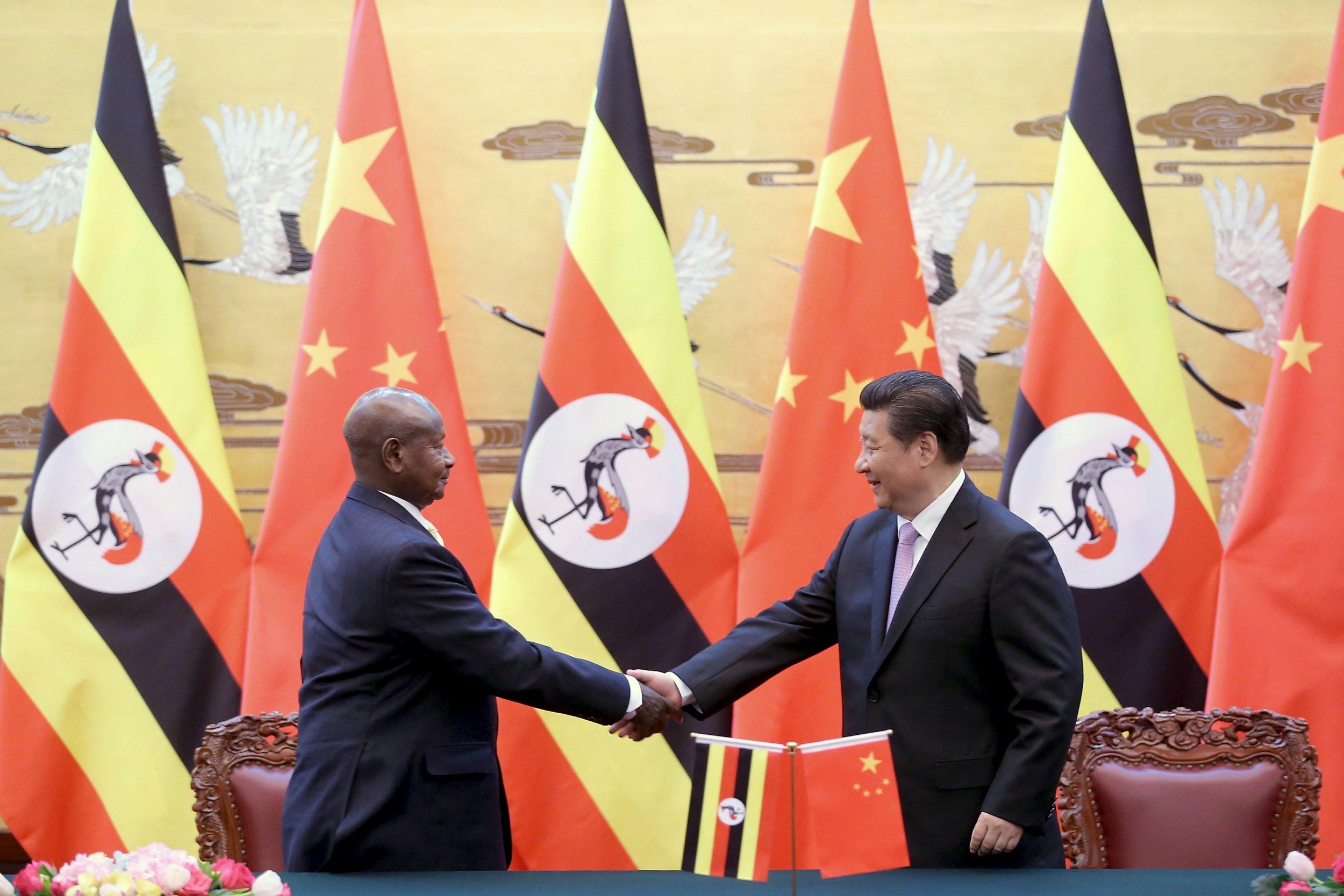 Xi Jinping and Museveni