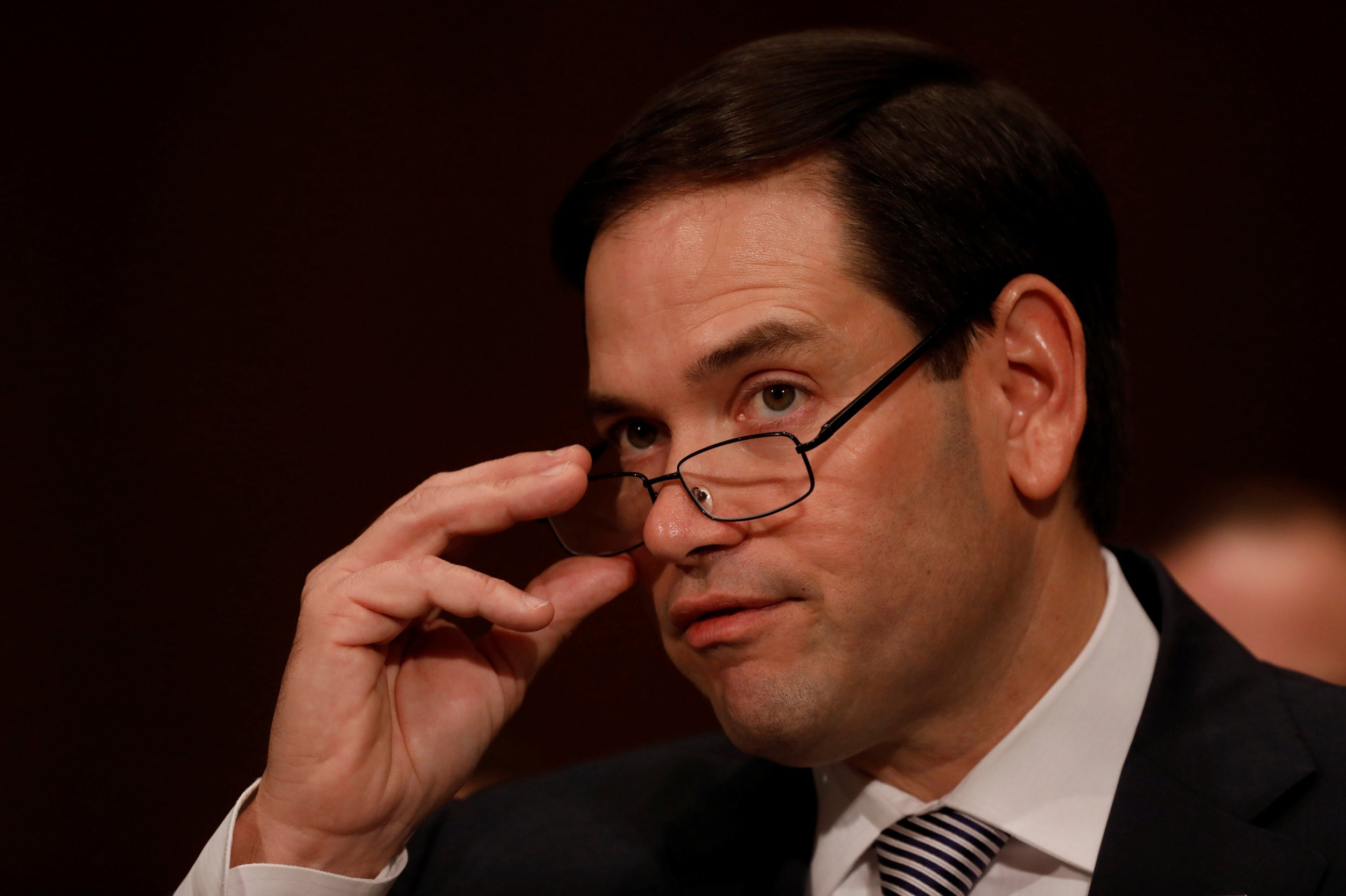 marco rubio 15062018 florida senator marco rubio veered way out of his lane discussing kanye west's latest album in a bizarre twitter video.