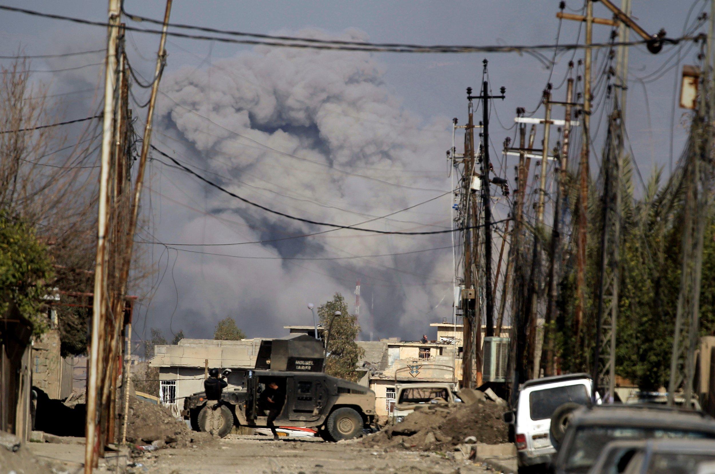 Mosul strike