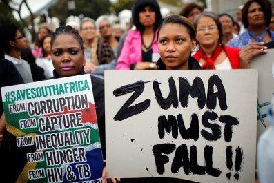 Zuma protest