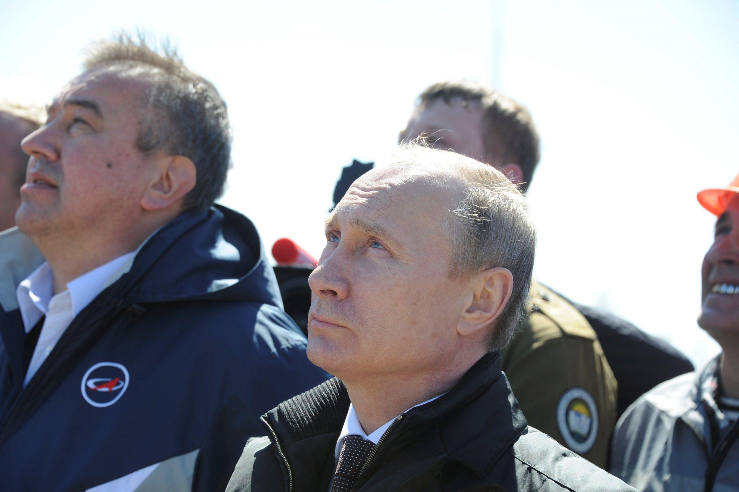 Putin rocket