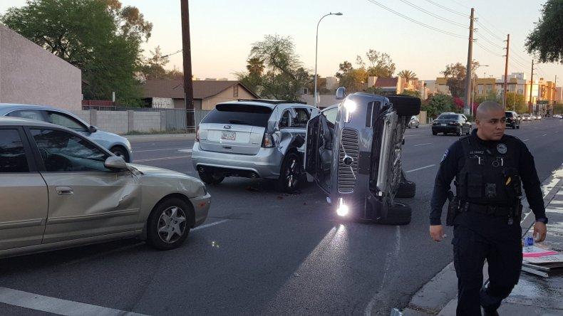 uber crash self-driving car